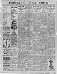 Portland Daily Press: May 27,1892