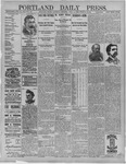 Portland Daily Press: June 11,1892