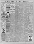 Portland Daily Press: June 23,1892