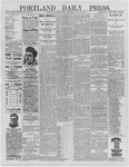 Portland Daily Press: June 24,1892