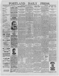 Portland Daily Press: June 27,1892