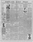 Portland Daily Press: June 29,1892