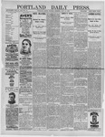 Portland Daily Press: July 12,1892