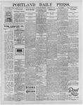 Portland Daily Press: August 21, 1895