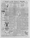 Portland Daily Press: August 24, 1895