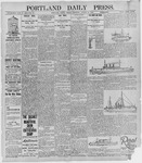 Portland Daily Press: August 27, 1895