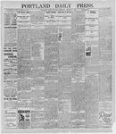 Portland Daily Press: August 29, 1895