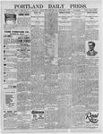 Portland Daily Press: September 4, 1895