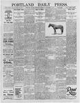 Portland Daily Press: September 5, 1895
