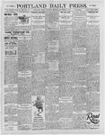 Portland Daily Press: September 7, 1895
