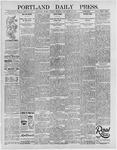 Portland Daily Press: September 10, 1895