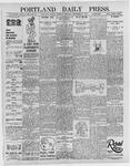 Portland Daily Press: September 12, 1895