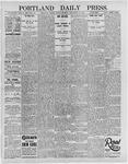 Portland Daily Press: September 13, 1895