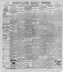 Portland Daily Press: September 21, 1895
