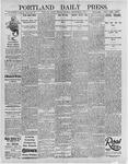 Portland Daily Press: September 23, 1895
