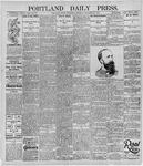 Portland Daily Press: September 25, 1895