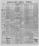 Portland Daily Press: September 27, 1895