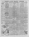 Portland Daily Press: September 28, 1895
