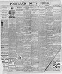 Portland Daily Press: October 1, 1895