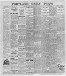 Portland Daily Press: October 3, 1895