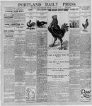 Portland Daily Press: October 6, 1895