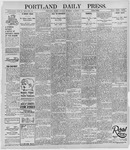 Portland Daily Press: October 7, 1895