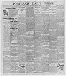 Portland Daily Press: October 9, 1895