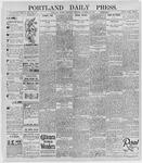Portland Daily Press: October 10, 1895