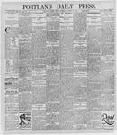Portland Daily Press: October 11, 1895