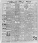 Portland Daily Press: October 14, 1895