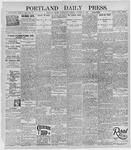 Portland Daily Press: October 16, 1895