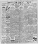 Portland Daily Press: October 17, 1895