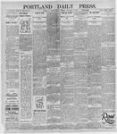 Portland Daily Press: October 18, 1895