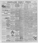 Portland Daily Press: October 19, 1895