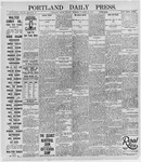 Portland Daily Press: October 21, 1895