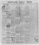 Portland Daily Press: October 23, 1895