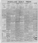 Portland Daily Press: October 25, 1895