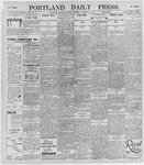 Portland Daily Press: October 26, 1895