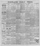 Portland Daily Press: October 29, 1895
