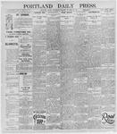 Portland Daily Press: October 30, 1895