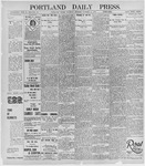 Portland Daily Press: October 31, 1895