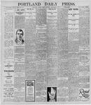 Portland Daily Press: November 1, 1895
