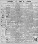 Portland Daily Press: November 4, 1895