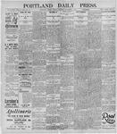 Portland Daily Press: November 5, 1895