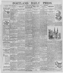 Portland Daily Press: November 8, 1895