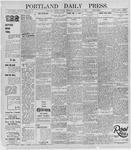 Portland Daily Press: November 12, 1895