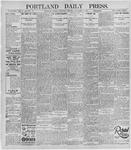 Portland Daily Press: November 13, 1895