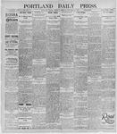 Portland Daily Press: November 14, 1895