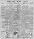 Portland Daily Press: November 15, 1895
