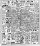 Portland Daily Press: November 16, 1895